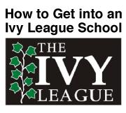 Get into Ivy League?