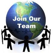 Join our Team Globe smaller