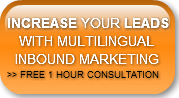 INCREASE YOUR LEADS    WITH MULTILINGUAL