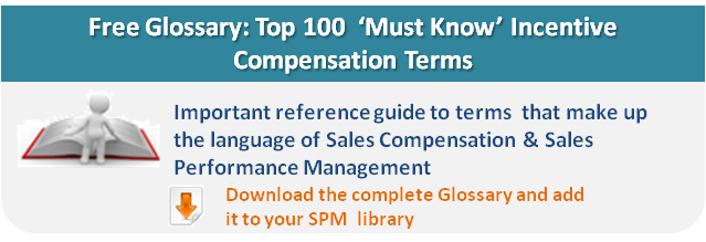 Sales Comp Glossary of terms