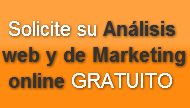 Solicite su Análisis web y de Marketing