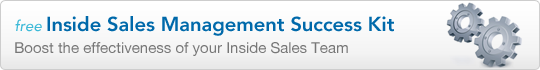 Inside Sales Management, Success Kit