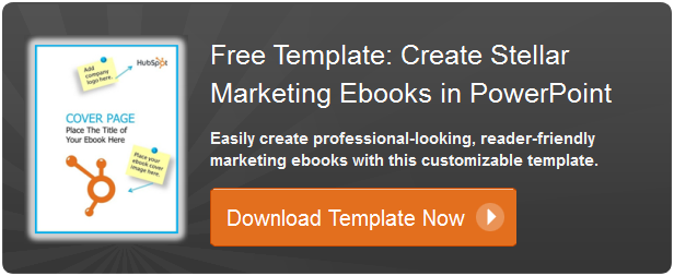 a simple powerpoint ebook template for mere marketing mortals, Modern powerpoint