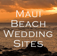 Get a FREE Maui Beach Wedding Locations eBbook