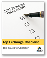 Taxpayer 1031 Checklist