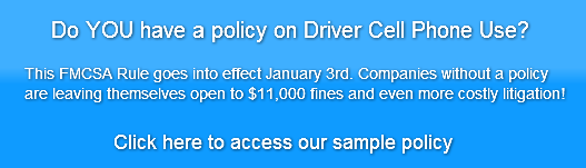 do-you-have-a-policy-on-driver-cell