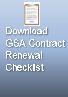 Download GSA ContractRenewal Checklist