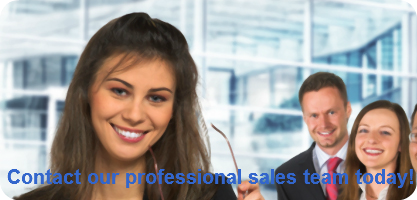 Contact our professional sales team toda