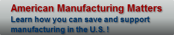 American Manufacturing Matters Learn how