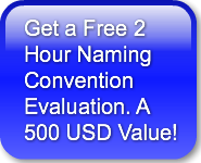 Get a Free 2 Hour Naming ConventionEvalu