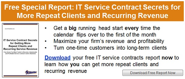 How To Sell An It Service Contract