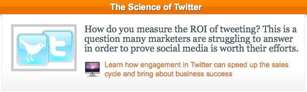 Science of Twitter CTA