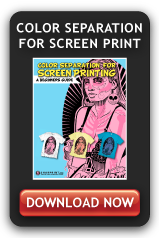 Color Separation for Screen Print  TShirt Screen Printing Chicago